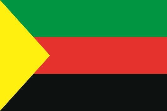 Flagge Tuareg NMLA