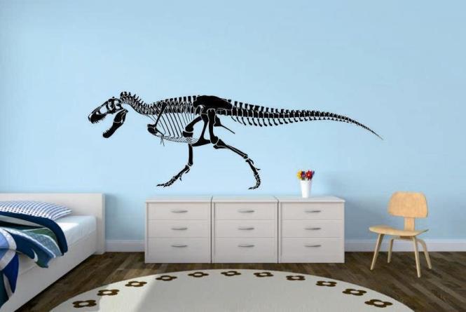 Wandtattoo Tyrannosaurus Skelett Motiv Nr. 2