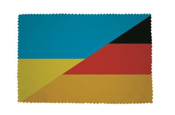 Glasreinigungstuch Ukraine-Deutschland
