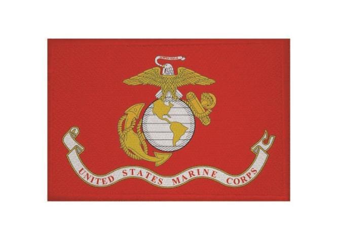 Aufnäher US Marine Corps Patch 9 x 6 cm