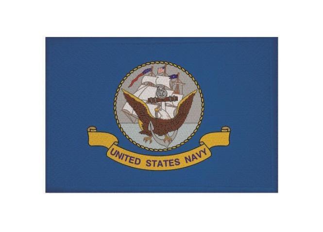 Aufnäher US Navy Marine Patch 9 x 6 cm