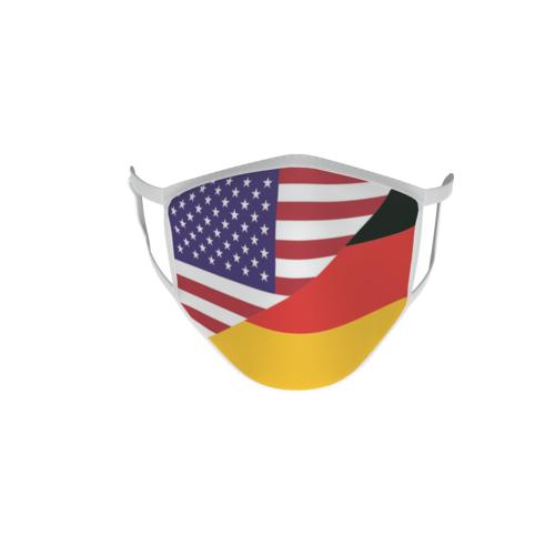 Gesichtsmaske Behelfsmaske Mundschutz USA-Deutschland L