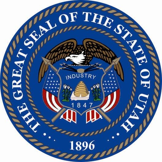 Aufkleber Utah Siegel Seal