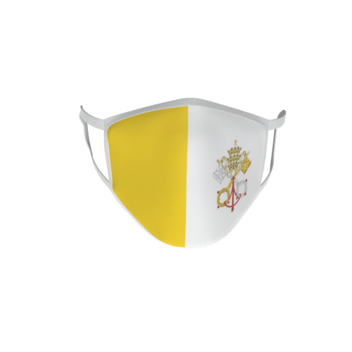 Gesichtsmaske Behelfsmaske Mundschutz Vatikan L
