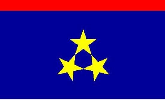 Flagge Vojvodina