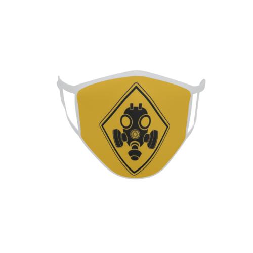 Gesichtsmaske Behelfsmaske Mundschutz Vorsicht Giftgas