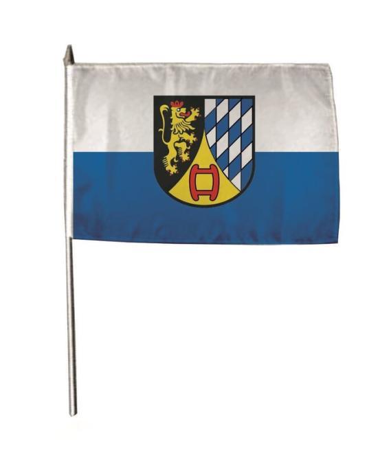 Stockflagge Weinheim 30 x 45 cm