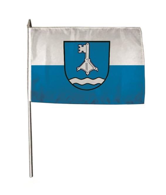 Stockflagge Weissach im Tal 30 x 45 cm