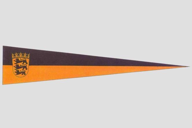 Wimpel Baden-Württemberg 150 x 30 cm