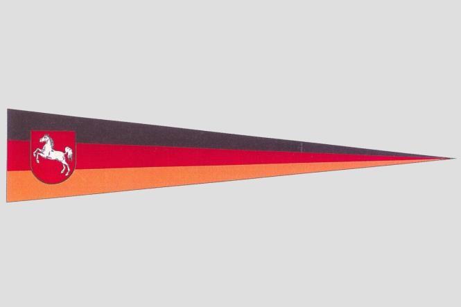 Wimpel Niedersachsen 150 x 30 cm