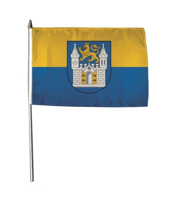 Stockflagge Wunstorf 30 x 45 cm