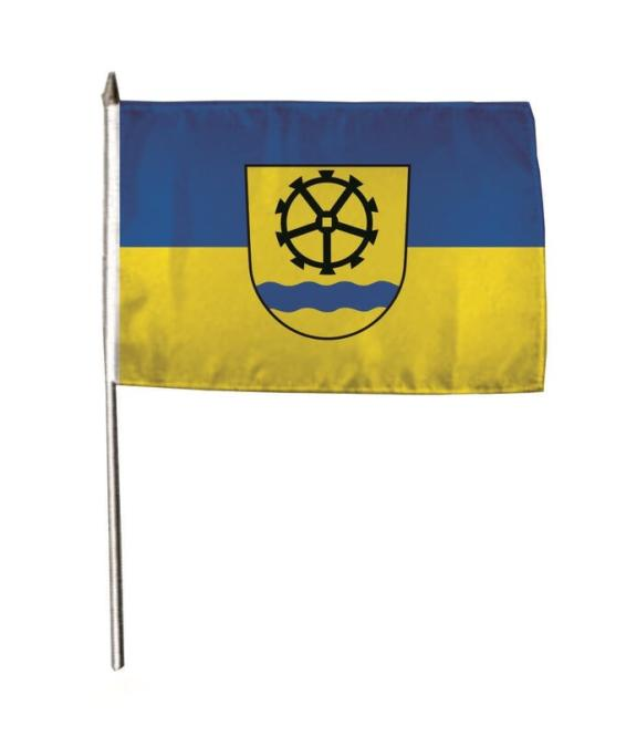 Stockflagge Wutöschingen 30 x 45 cm