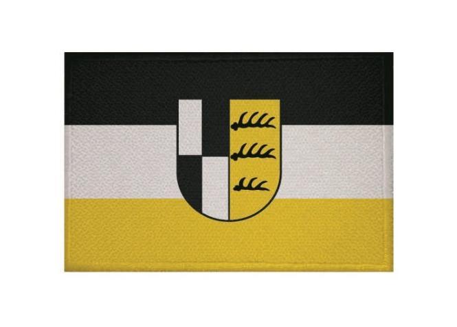 Aufnäher Zollernalbkreis Patch 9 x 6 cm