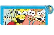 Stiftemäppchen Sponge Bob blau
