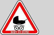 Baby an Bord SL 20 cm