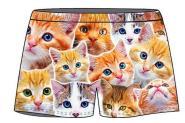 Boxershort Katzen unisize