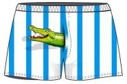 Boxershort Krokodil unisize