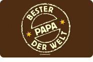 Brettchen Bester Papa der Welt