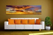Wandbild Abendhimmel Panorama