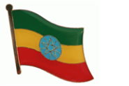 Pin Äthiopien 20 x 17 mm
