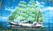 Fahne Alexander von Humboldt 90 x 150 cm