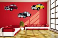 Wandtattoo American Vintage Cars