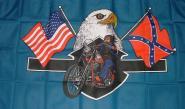 Fahne American Biker 90 x 150 cm