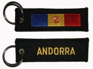 Schlüsselanhänger Andorra