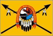 Fahne Apachen 90 x 150 cm