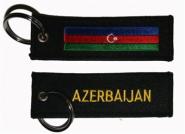 Schlüsselanhänger Aserbaidschan
