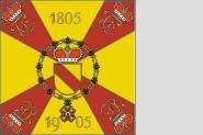 Fahne Standarte Badisches Leib-Grenadier-Regiment Nr. 109 110 x 110 cm
