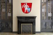 Wandtattoo Bamberg Wappen Color