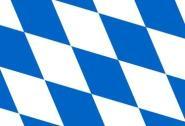 Miniflag Bayern Raute 10 x 15 cm
