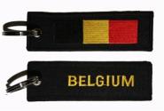 Schlüsselanhänger Belgien