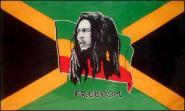 Miniflag Bob Marley 10 x 15 cm