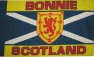 Miniflag Bonnie Scotland 10 x 15 cm