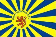 Fahne Braunschweig Fanflagge 90 x 150 cm