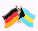 Freundschaftspin Deutschland - Bahamas 25 x 15 mm