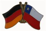 Freundschaftspin Deutschland - Chile 25 x 15 mm