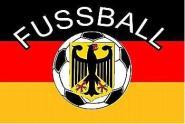 Fahne Deutschland Fussball 90 x 150 cm