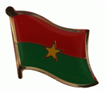 Pin Burkina Faso 20 x 17 mm