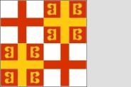 Fahne Byzanz 14. Jahrhundert 150 x 150 cm