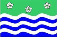 Miniflag Cumbria 10 x 15 cm