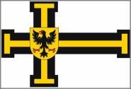 Fahne Deutscher Orden Hochmeister 90 x 150 cm