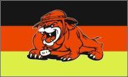 Fahne Deutschland Bulldogge 90 x 150 cm
