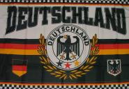 Fahne Deutschland Fanflagge 150 x 250 cm