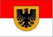 Fahne Dortmund 30 x 45 cm