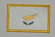 Aufnäher Zypern