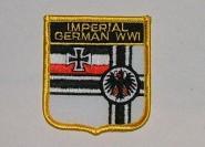 Wappenaufnäher Imperial German WWI Reichskriegsflagge