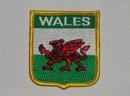 Wappenaufnäher Wales